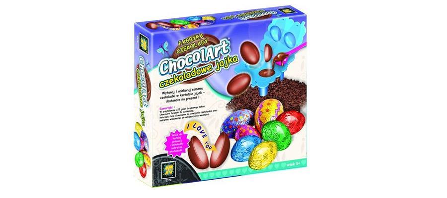 Fabryka czekolady, czekoladowe jajka, zestaw kreatywny - Amav