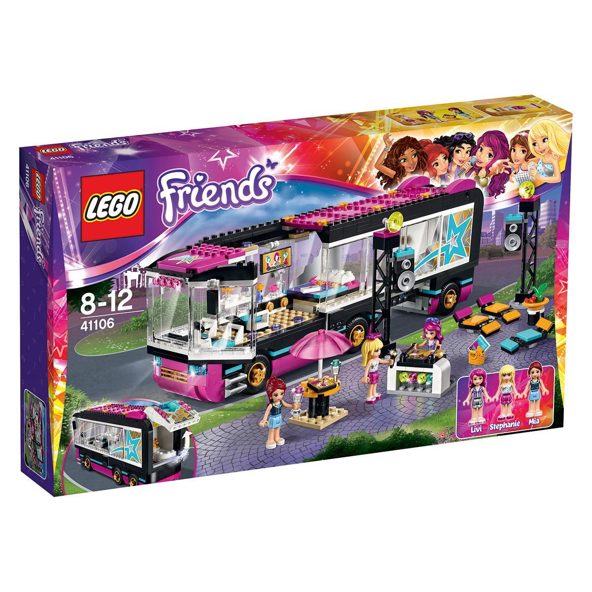 """LEGO® Friends """"Wóz koncertowy gwiazdy pop"""" (41106)"""