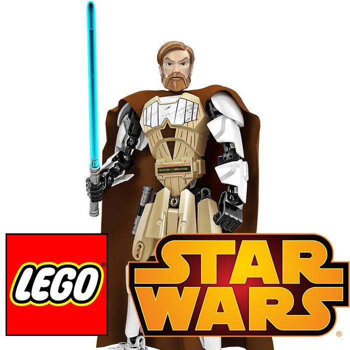 Figurki bohaterów Lego Star Wars