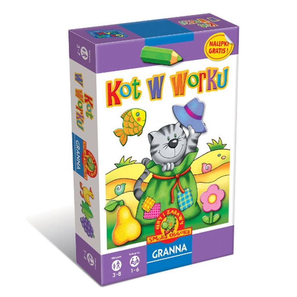 Seria Gry i zabawy Smoka Obiboka: Kot w worku, Patyczaki, Zagadki Smoka Obiboka, Kółka i Spółka, Już czytam