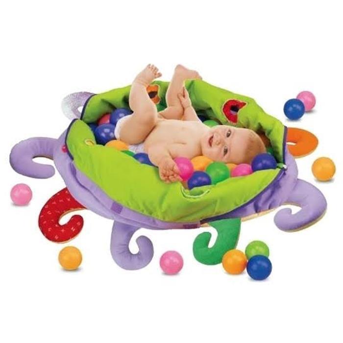 Ośmiornica - basen z piłeczkami