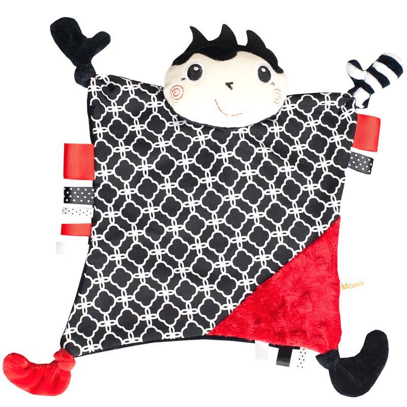 Kolekcja biało-czarnych zabawek Moms