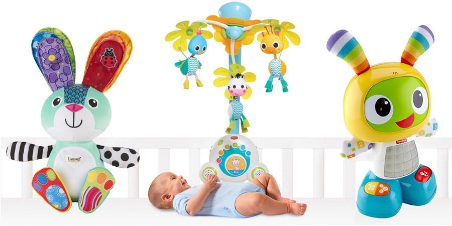 Interaktywne zabawki dla małych dzieci