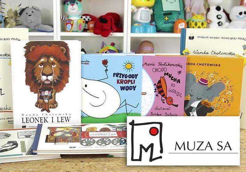 Książki dla dzieci z serii Muzeum Książki Dziecięcej poleca, Wydawnictwo MUZA SA