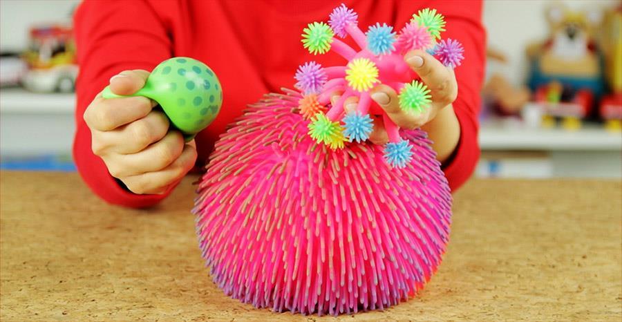 Zestawienia zabawek antystresowych dla dzieci