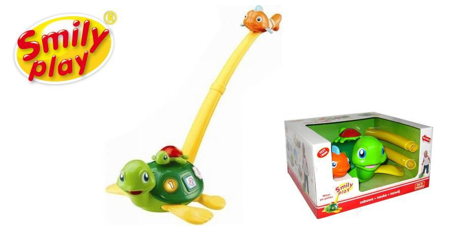 Smily Play, Interaktywny żółwik pchacz