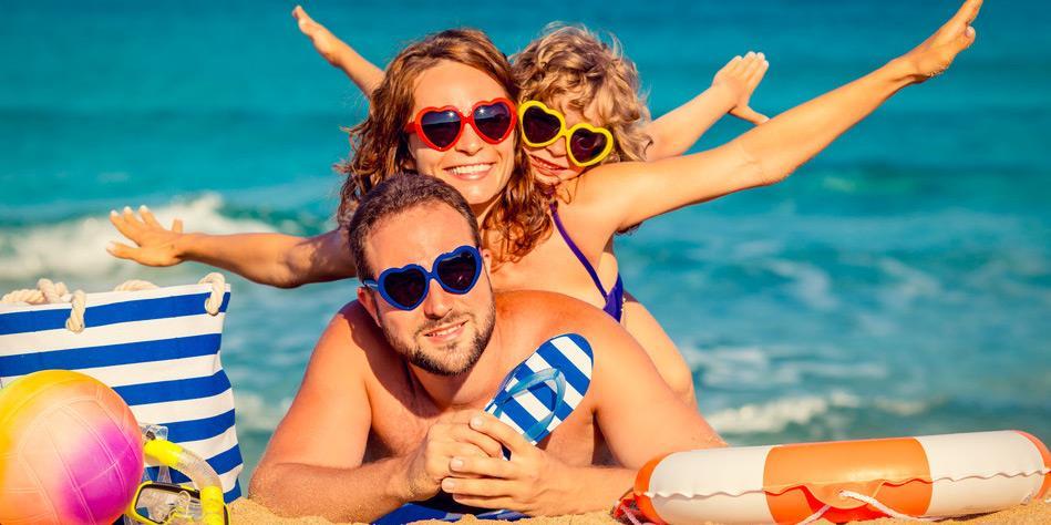 Akcesoria na plażę dla całej rodziny