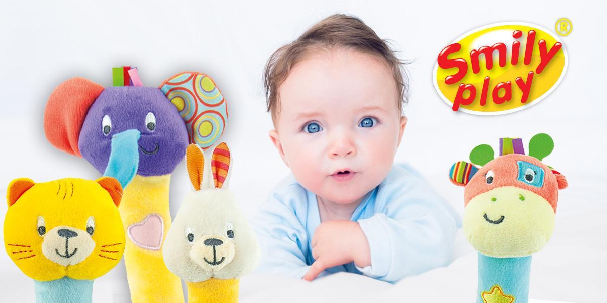 Zabawki Smily Play dla niemowlaka
