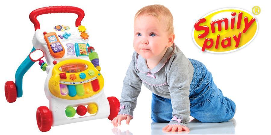 Zabawki Smily Play dla rocznego dziecka