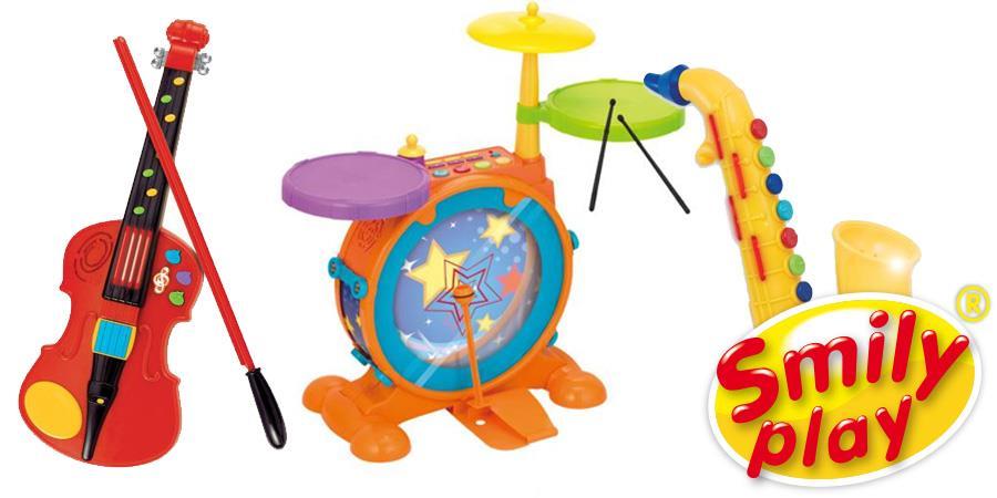 Zabawki muzyczne od Smily Play