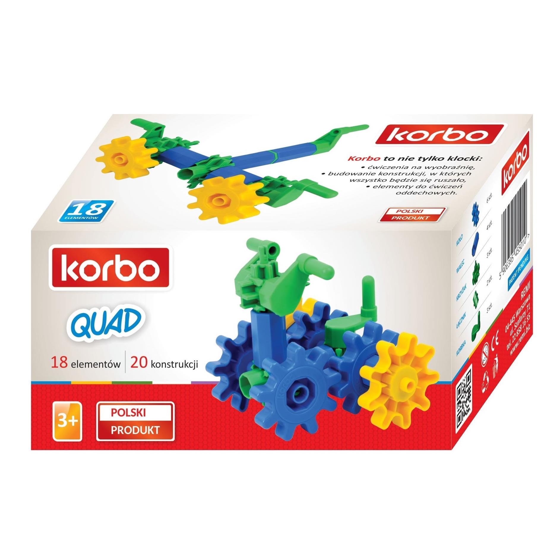 KLOCKI KORBO (cała seria)