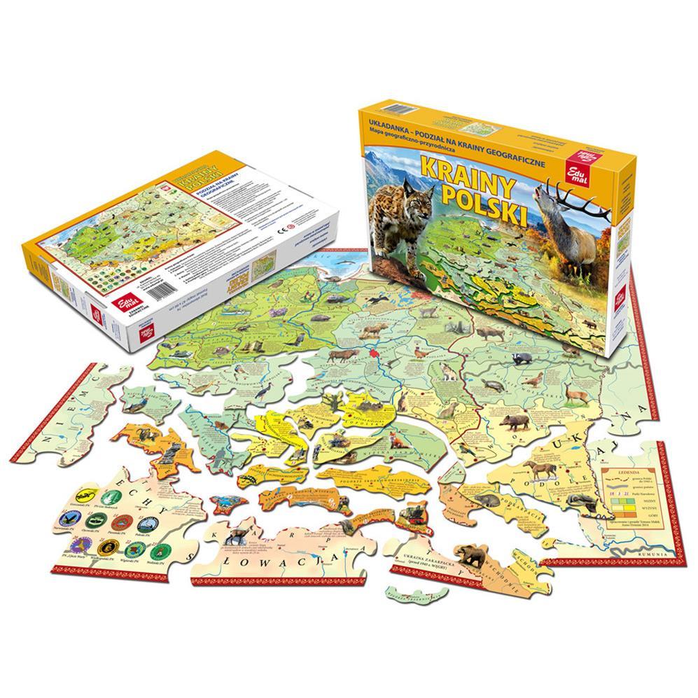 Mapy-układanki EDUMAL