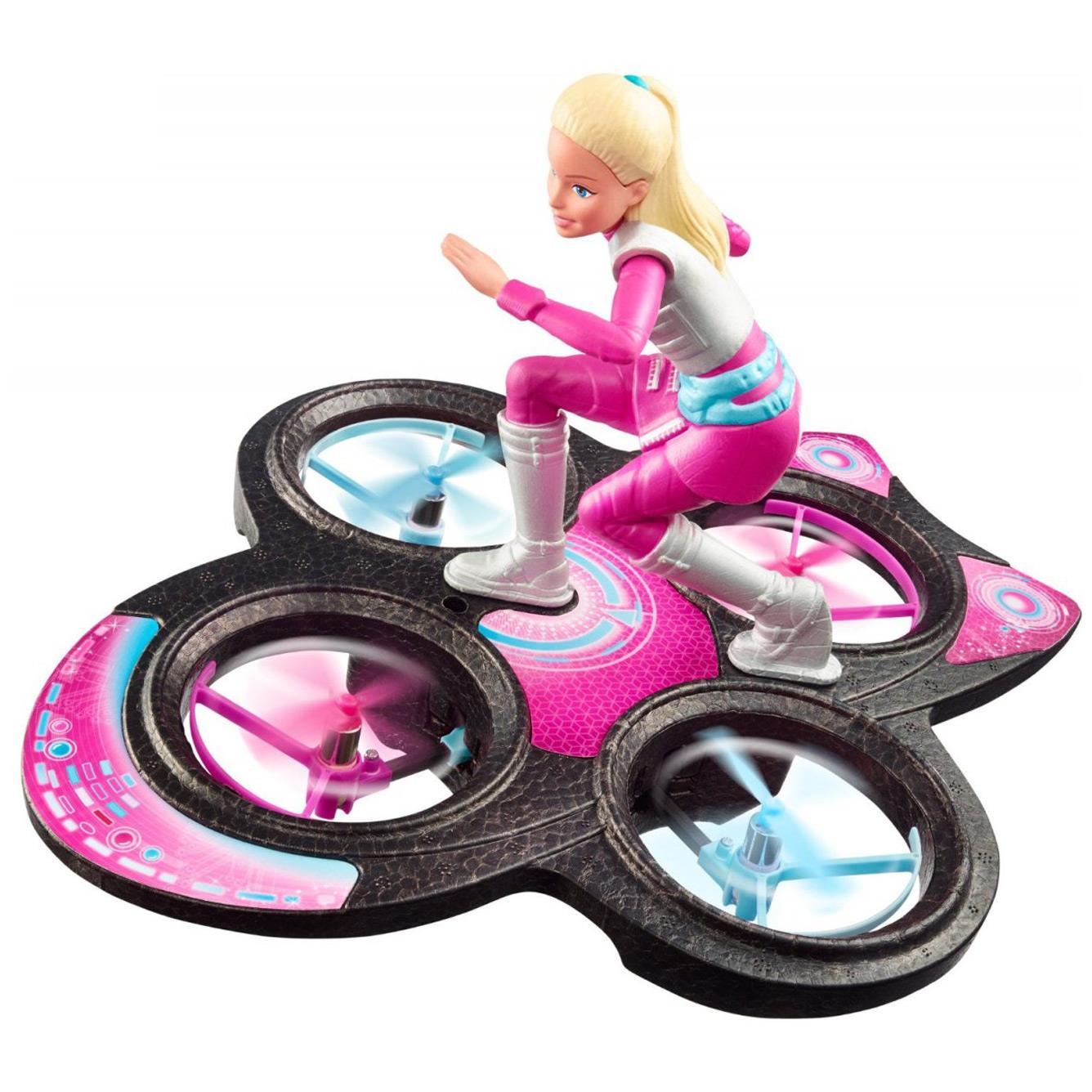 Sterowana latająca Barbie