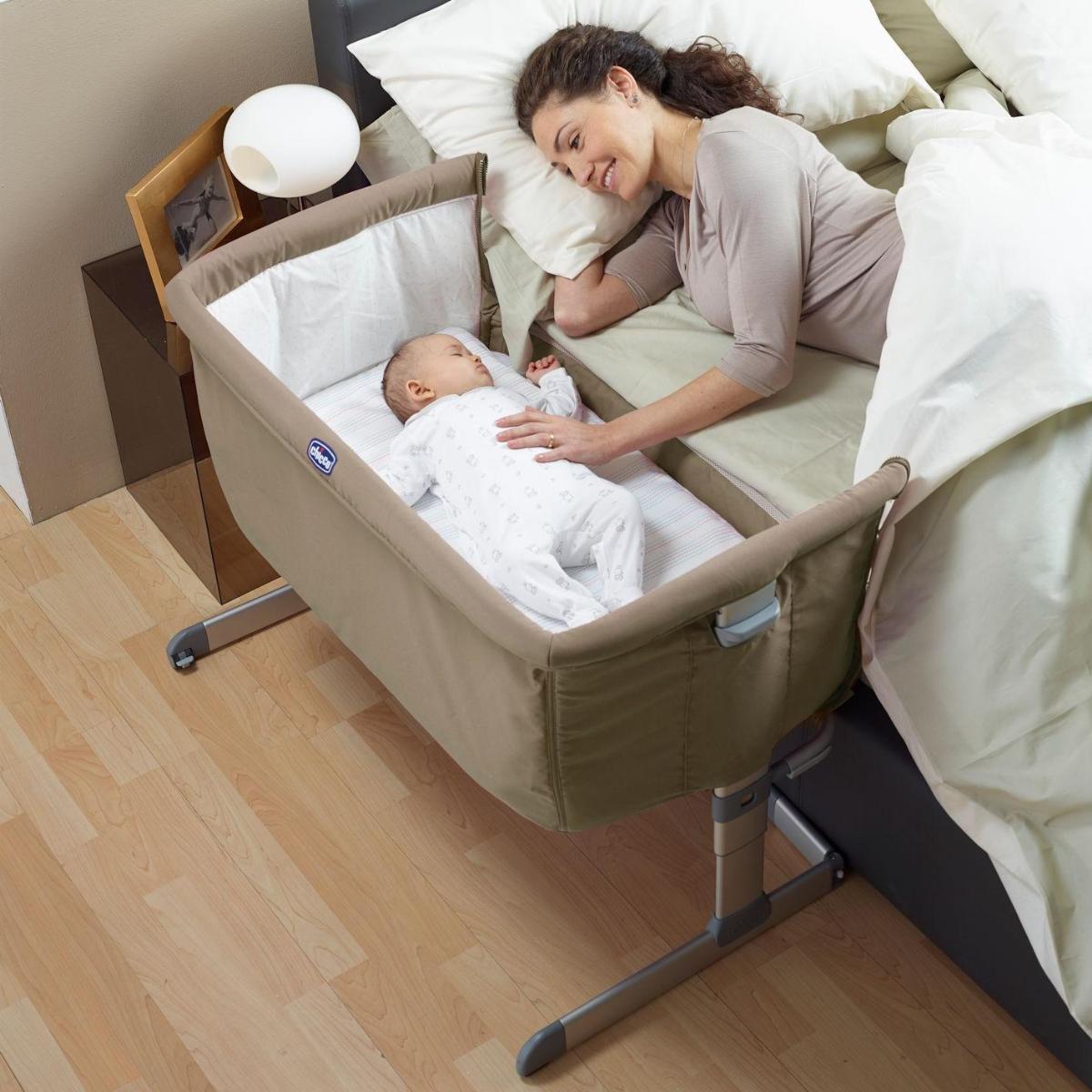 Next2Me - łóżeczko dostawne z funkcją łóżeczka samodzielnego i podróżnego