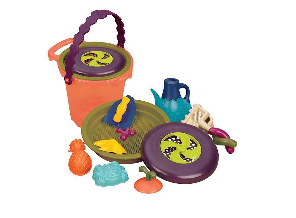 Zestawy B.toys do zabawy w piasku