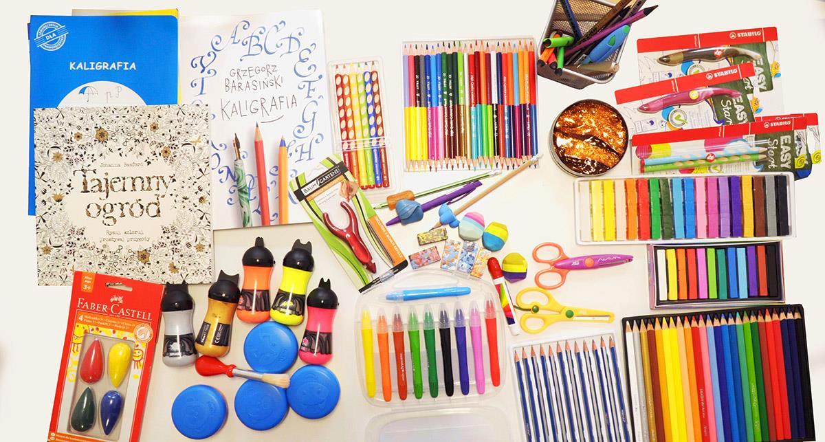 Produkty ułatwiające naukę ładnego pisania