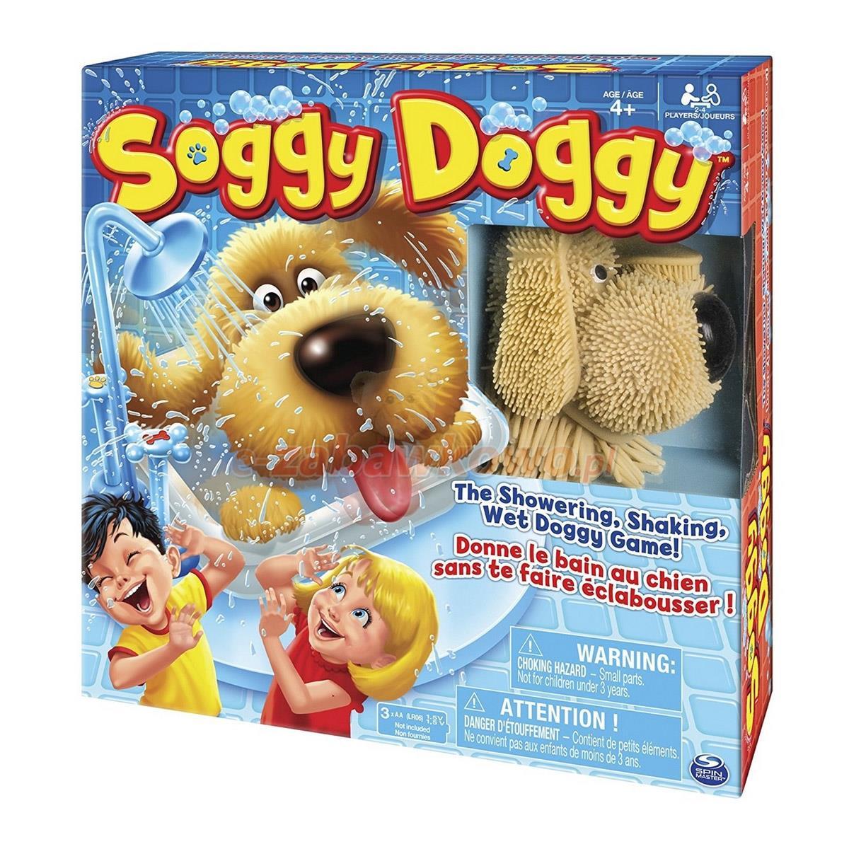 Soggy Doggy gra zręcznościowa, Spin Master
