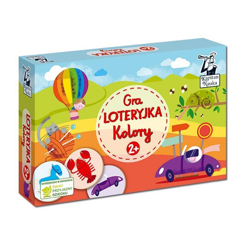 Kapitan Nauka Loteryjka - seria gier edukacyjnych
