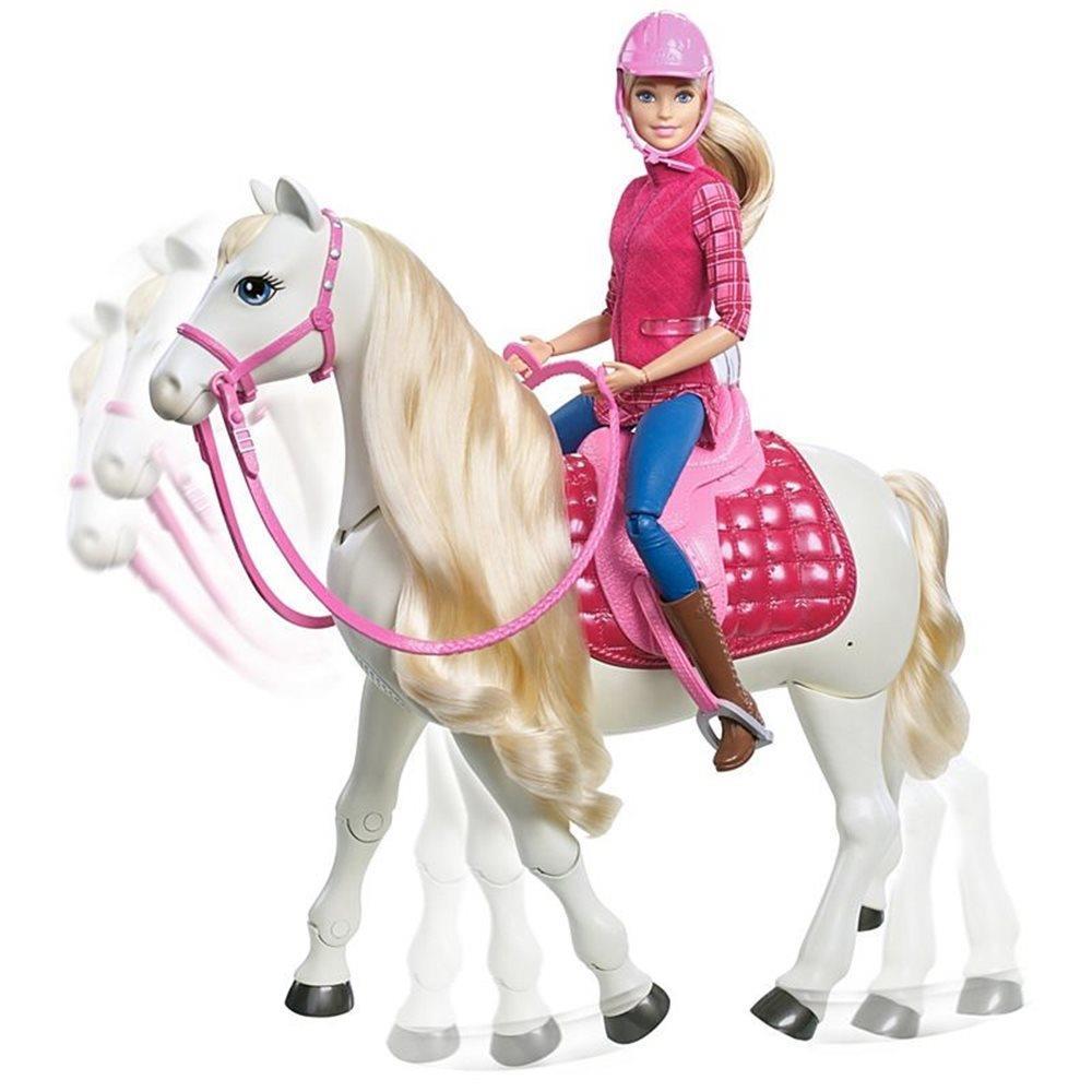 Interaktywny Koń Barbie
