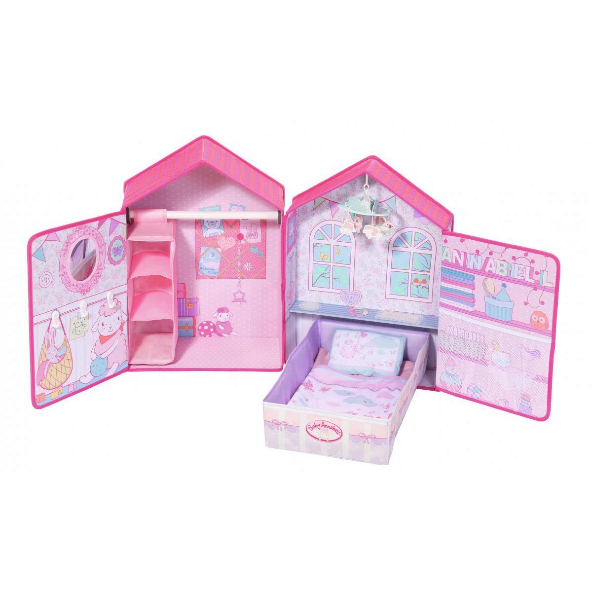 Baby Annabell Domek z sypialnią dla lalek