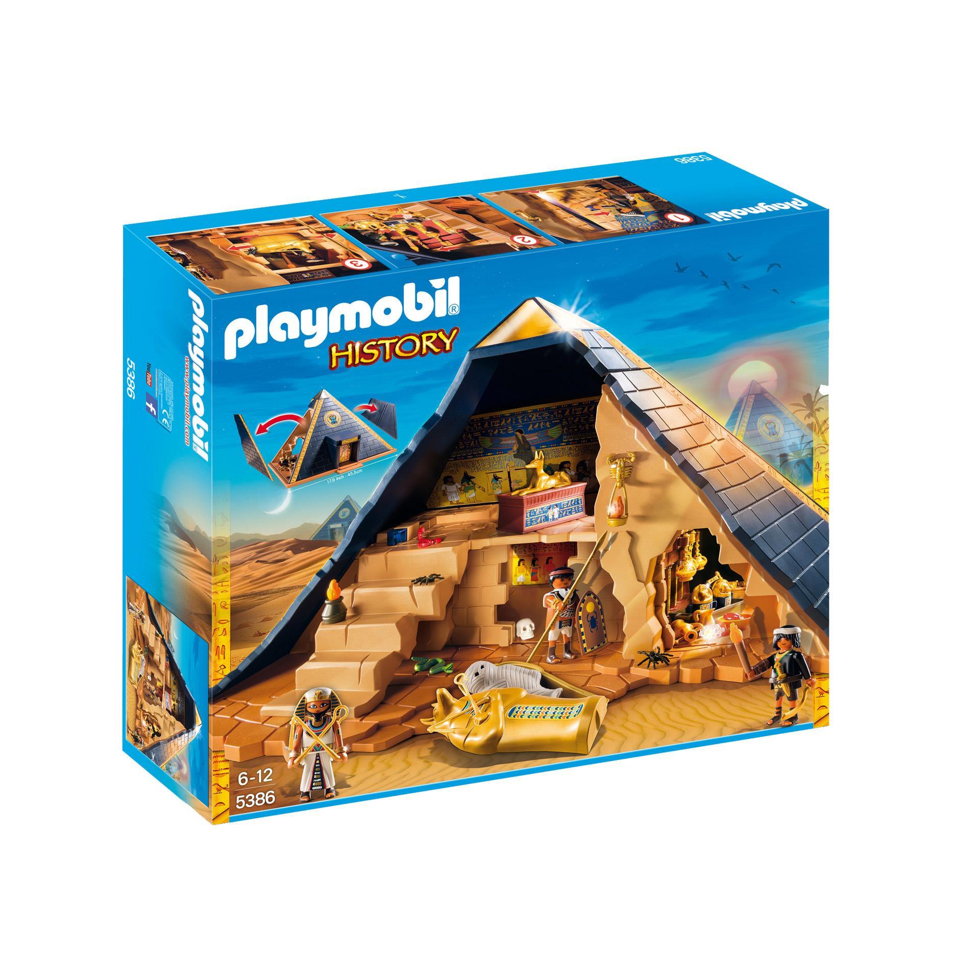 Playmobil Ciekawe przygody z Rzymianami i Egipcjanami