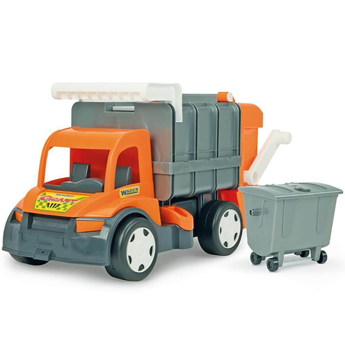 Seria Gigant Śmieciarka Orange/Blue, Farmer
