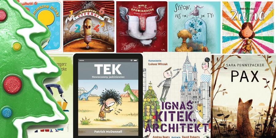 Top książek dla dzieci pod choinkę