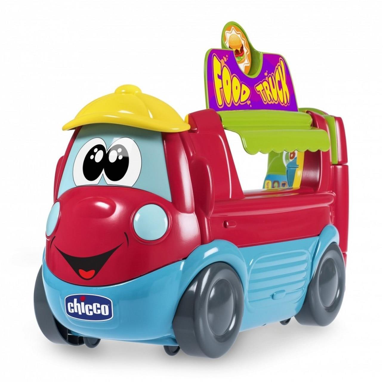 Food Truck – pojazd i kuchnia na kółkach w 1 + zabawka językowa PL/EN