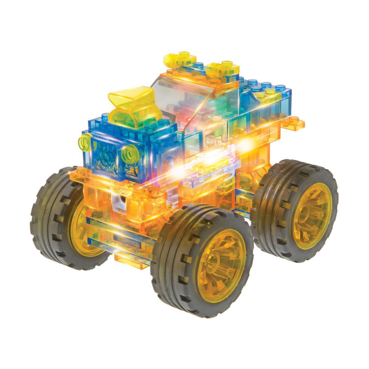 Świecące klocki Laser Pegs - Seria 27 produktów