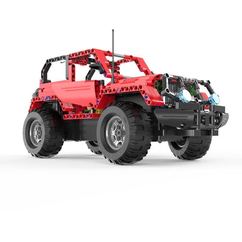 Jeep Wrangler do zbudowania z klocków ZDALNIE STEROWANY