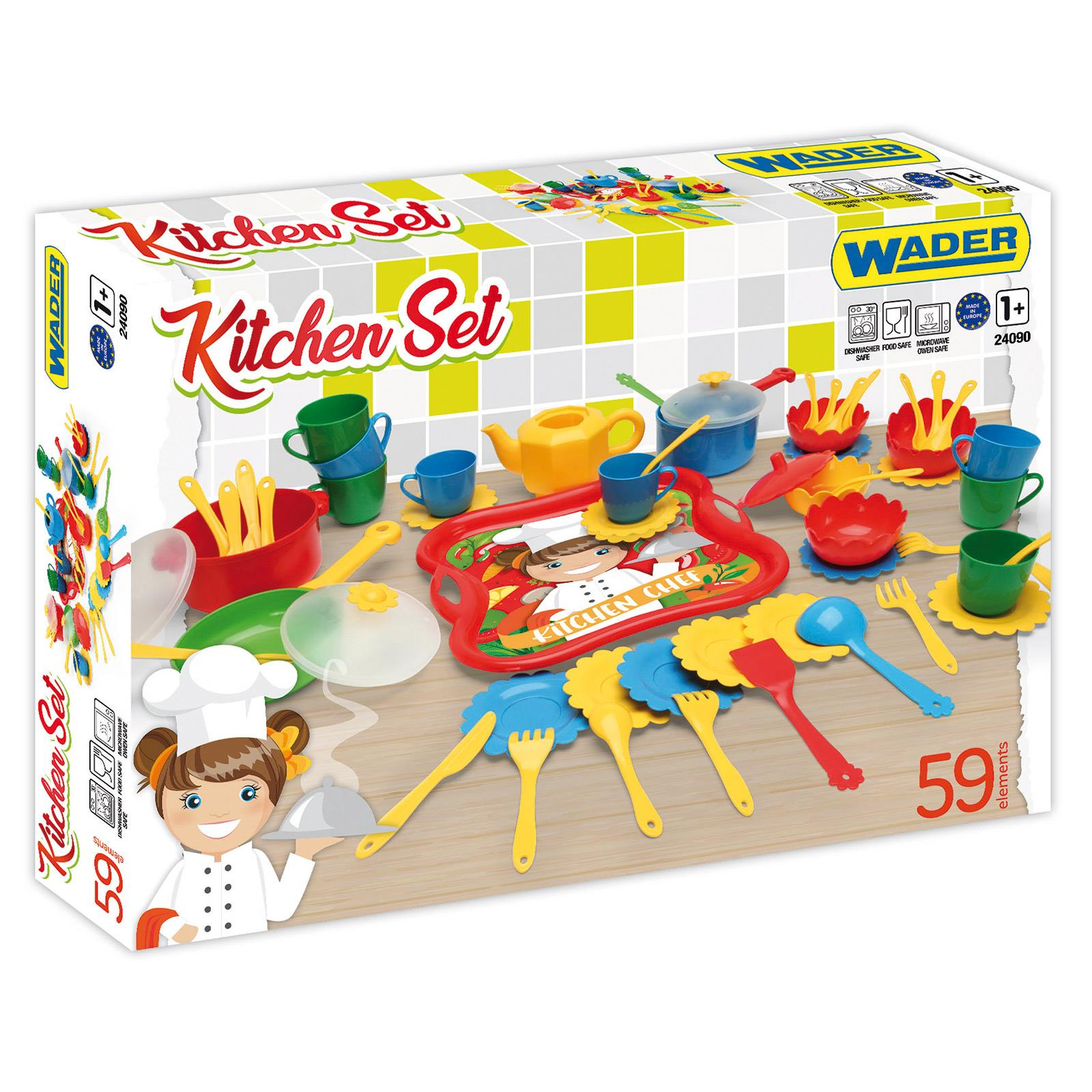 Zestaw kuchenny Kitchen Set 59 elementów