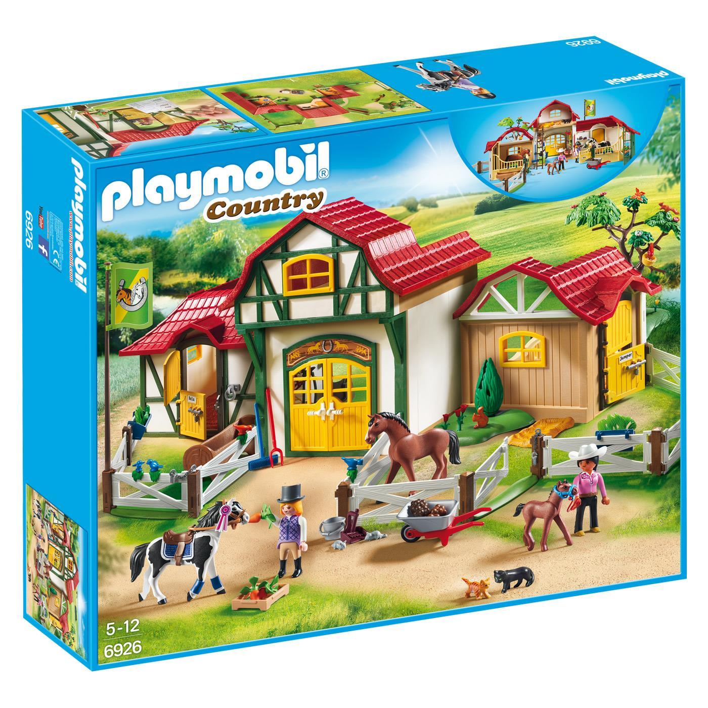 Playmobil, Świetna zabawa z nową stadniną koni