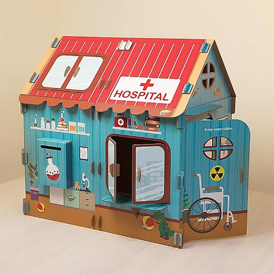 Ekologiczny Domek dla dzieci PLAYTOYZ