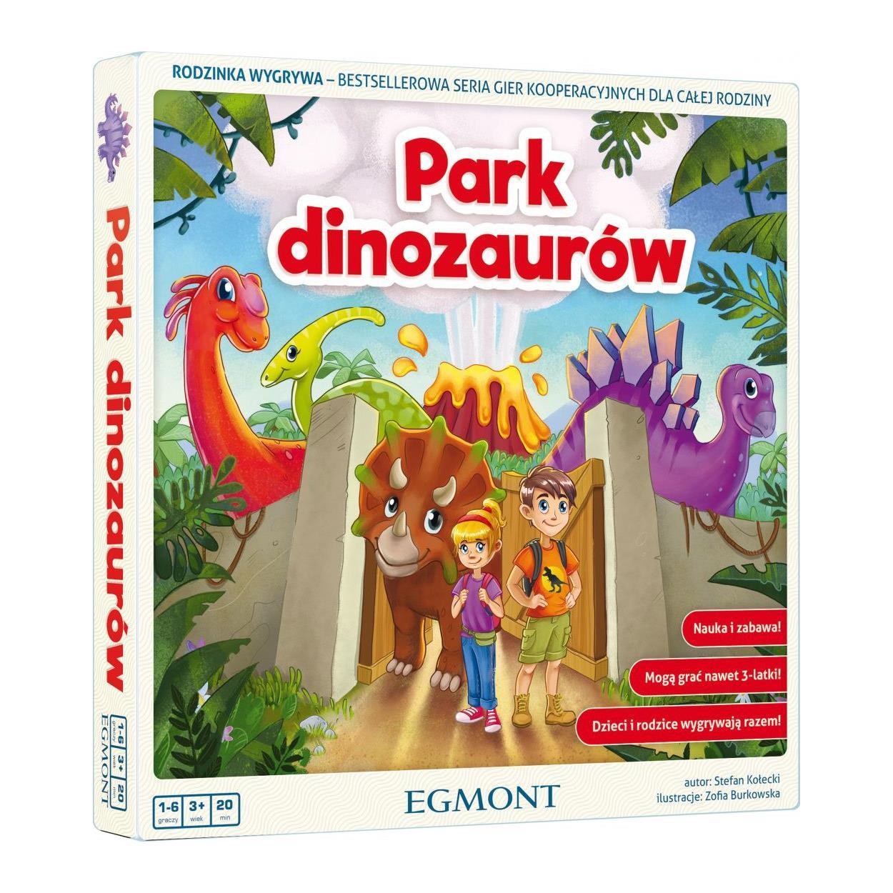 Gra planszowa Park dinozaurów