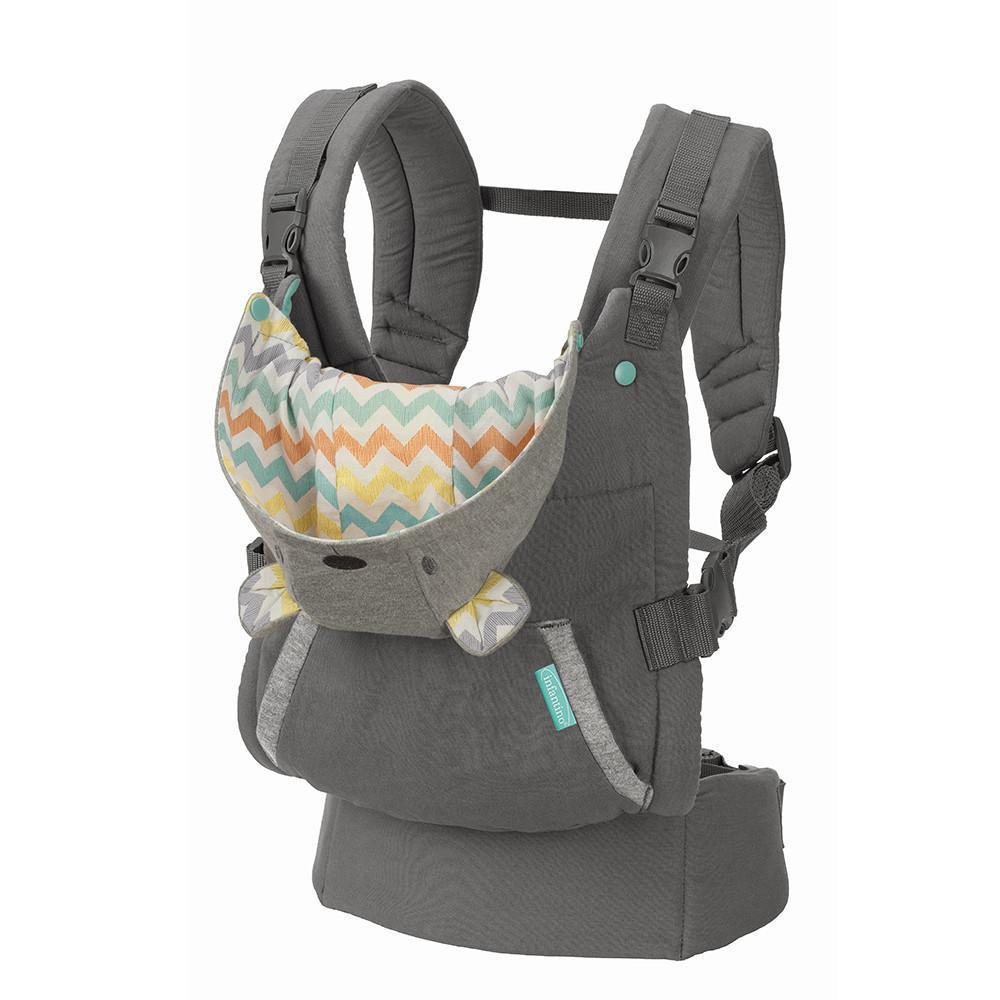 INFANTINO Nosidełko ergonomiczne z kapturkiem