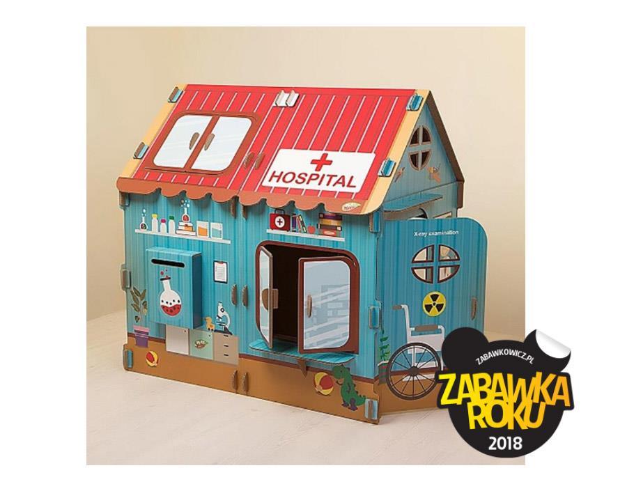 Ekologiczny Domek dla dzieci PLAYTOYZ - Zabawka Roku 2018