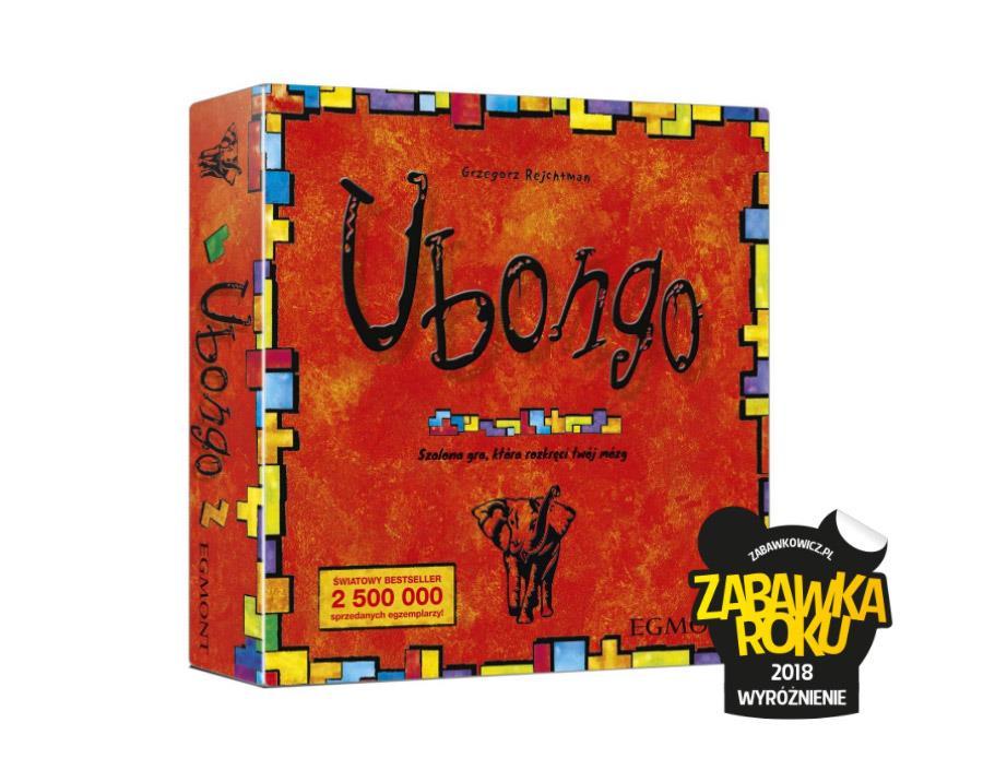 Gra planszowa UBONGO - Zabawka Roku 2018 Wyróżnienie