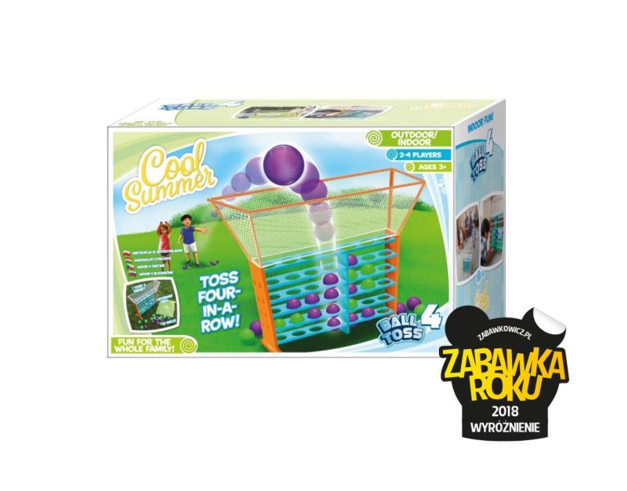 Gry plenerowe Cool Summer - Zabawka Roku 2018 Wyróżnienie