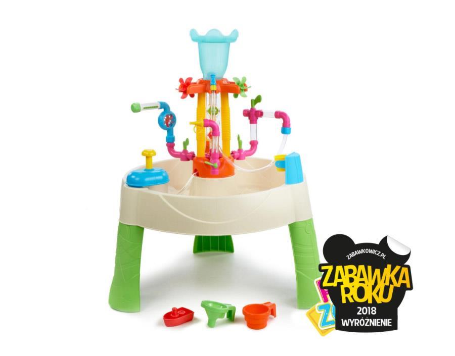 Little Tikes Stolik z fontannami Fun Zone - Zabawka Roku 2018 Wyróżnienie