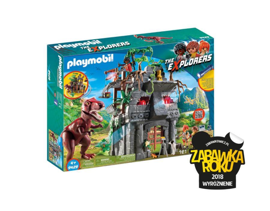 Playmobil The Explorers - Zabawka Roku 2018 Wyróżnienie