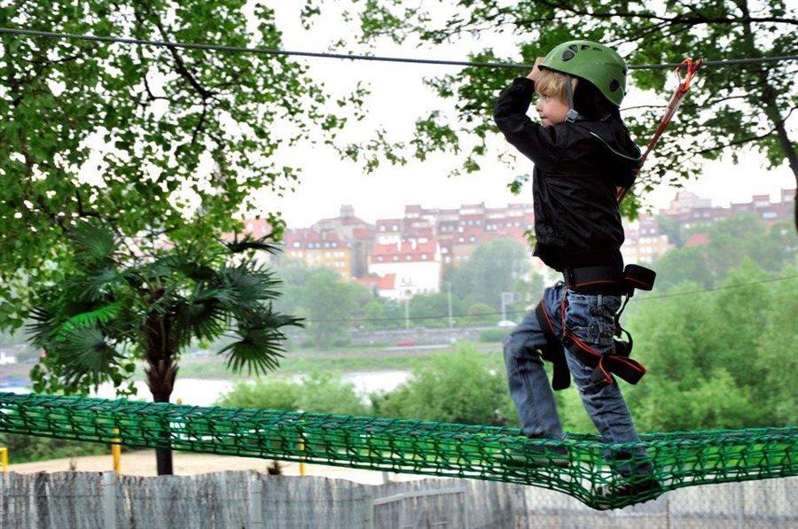 Top 10 parków linowych w Polsce
