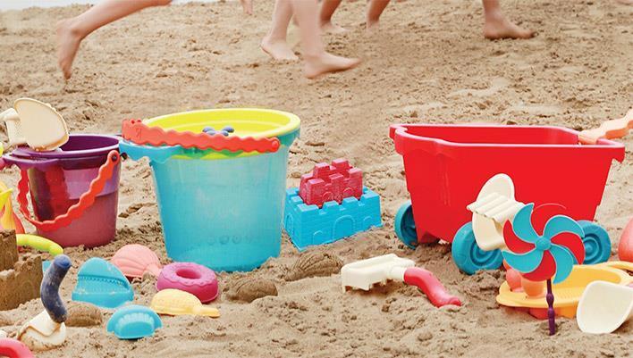 Top 10 zabawek na plażę