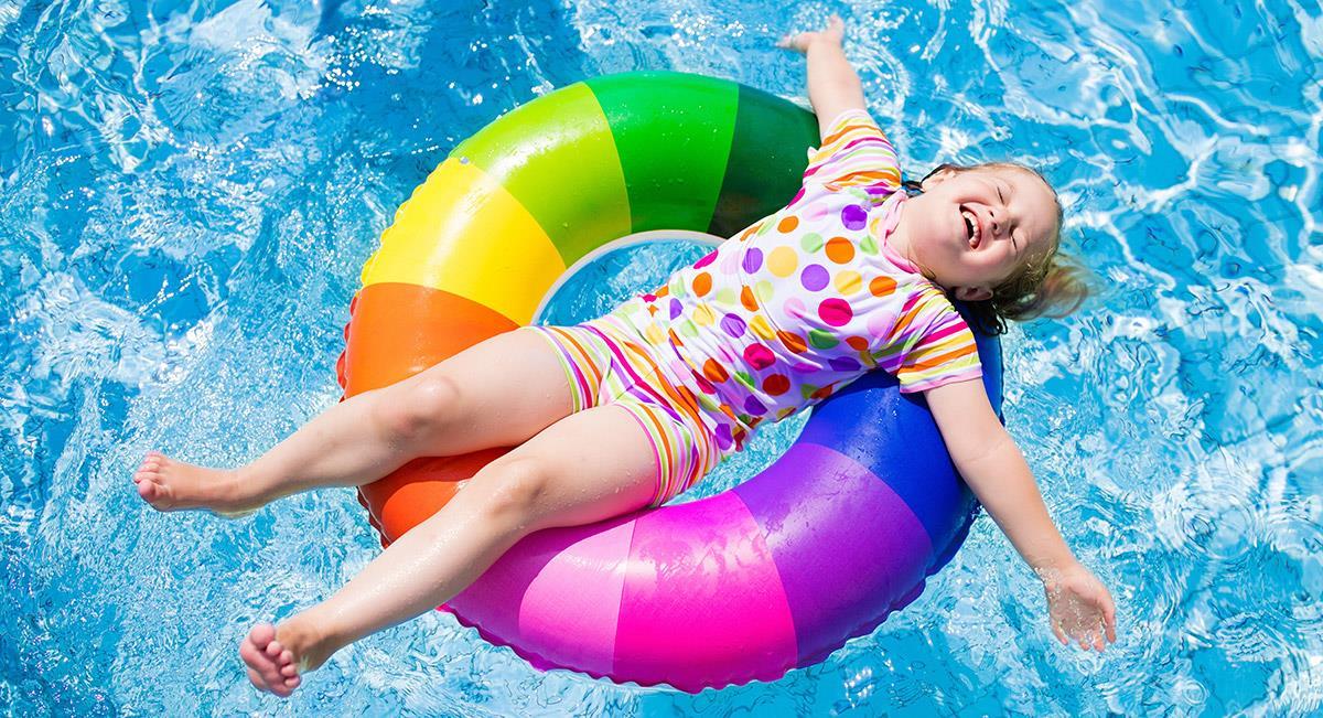 Akcesoria i sprzęt do nauki pływania i zabawy w wodzie dla dzieci