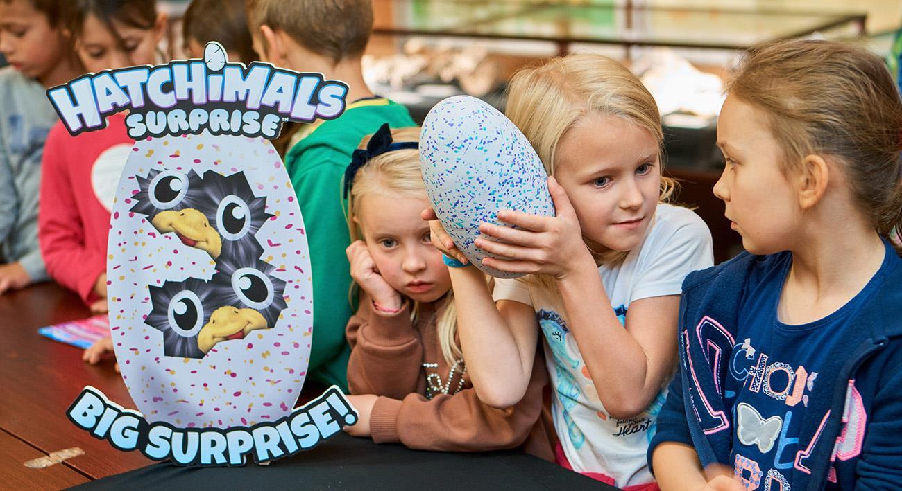 Hatchimals Surprise - Każdy może zostać paleontologiem