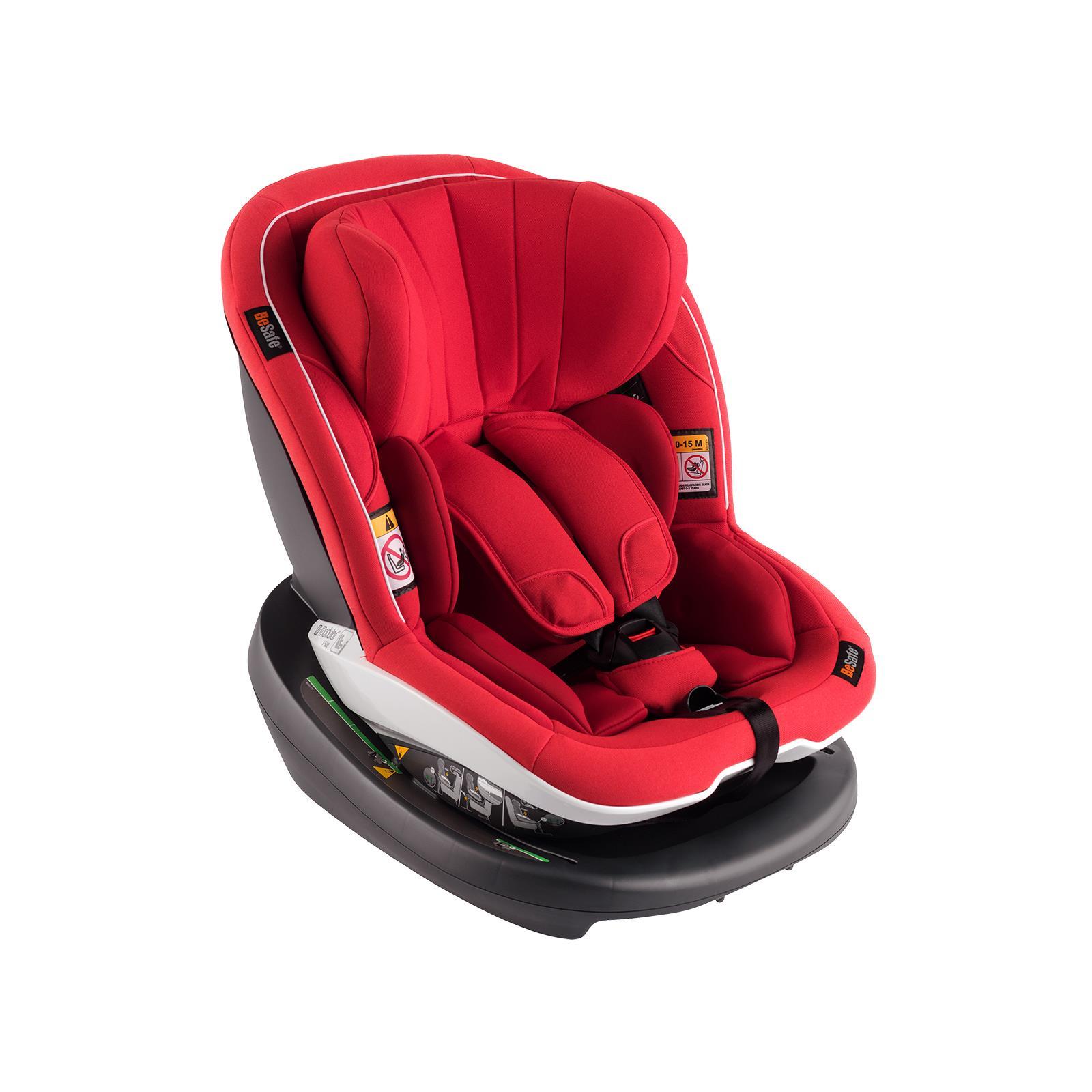 Seria fotelików samochodowych BeSafe z homologacją i-Size