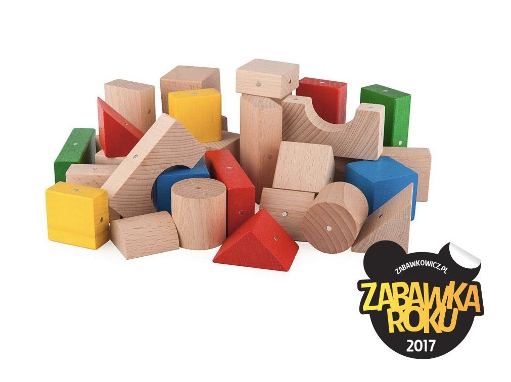KOOGLO - drewniane klocki magnetyczne