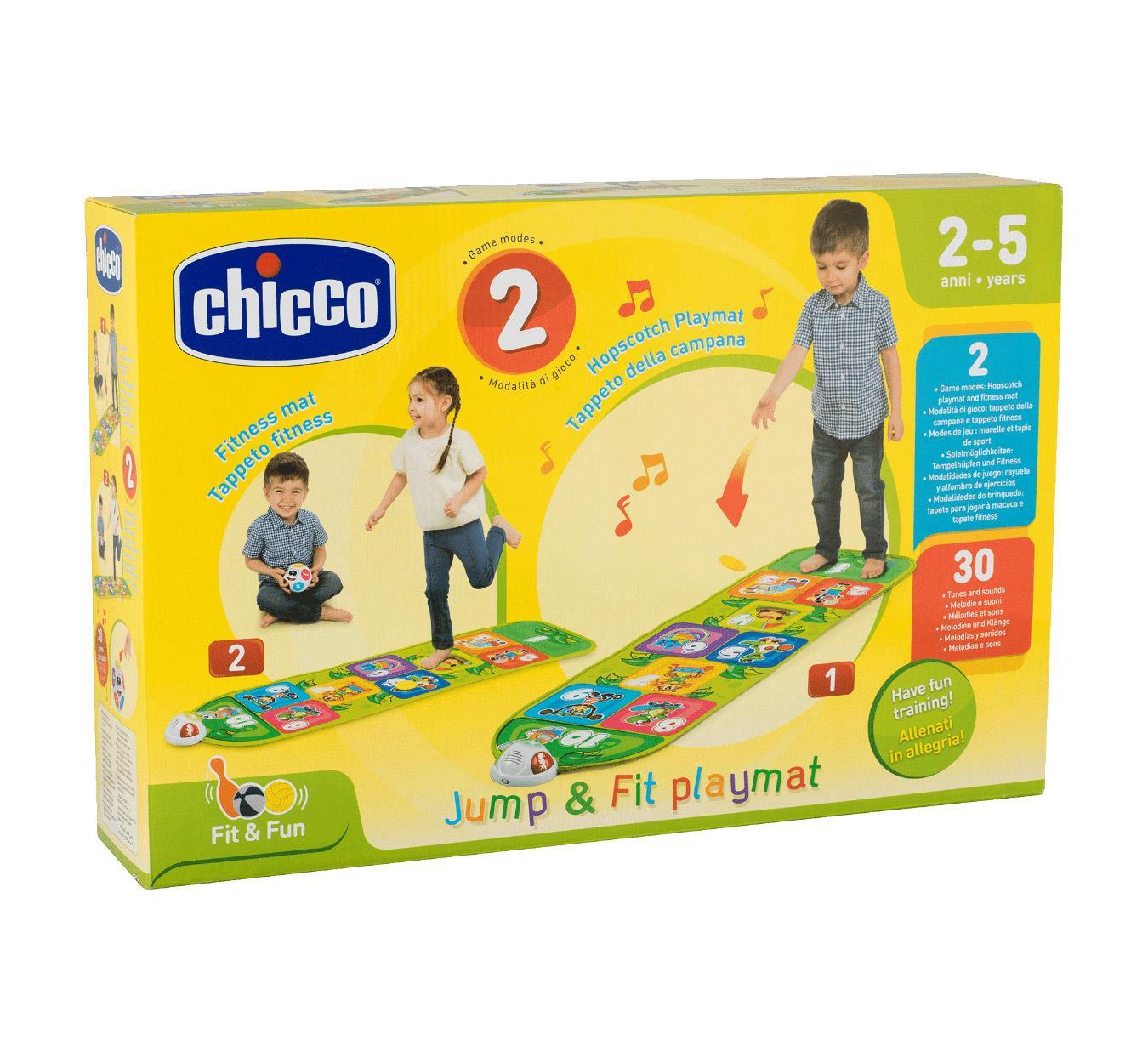 Elektroniczna mata do gry w klasy, CHICCO