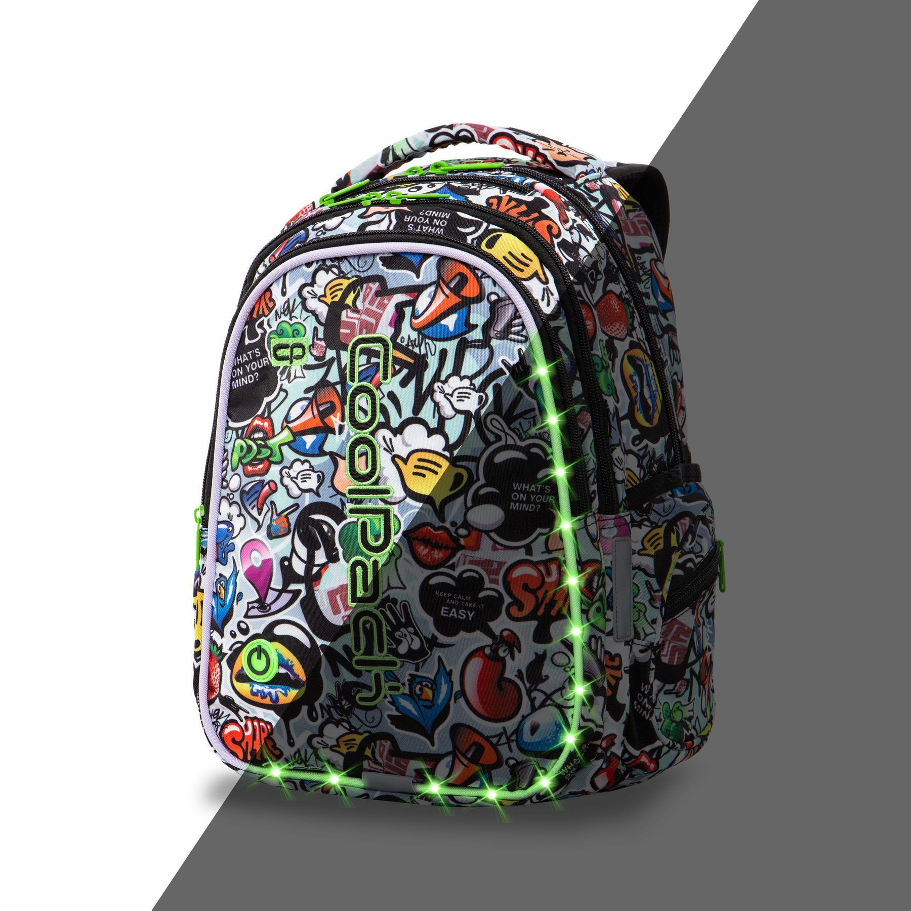 Świecący plecak LedPack by CoolPack
