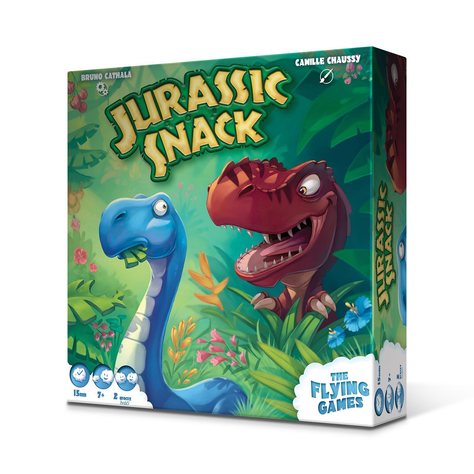 Gra Jurassic Snack