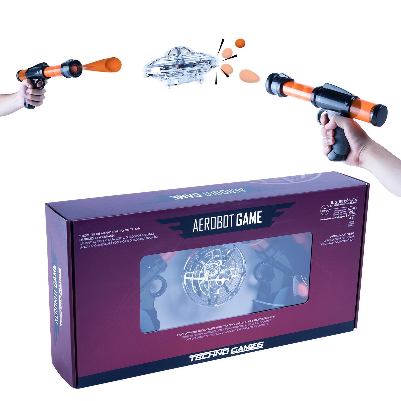 Gra Aerobot. Technogames